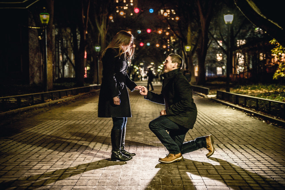 locust walk proposal shoot philly
