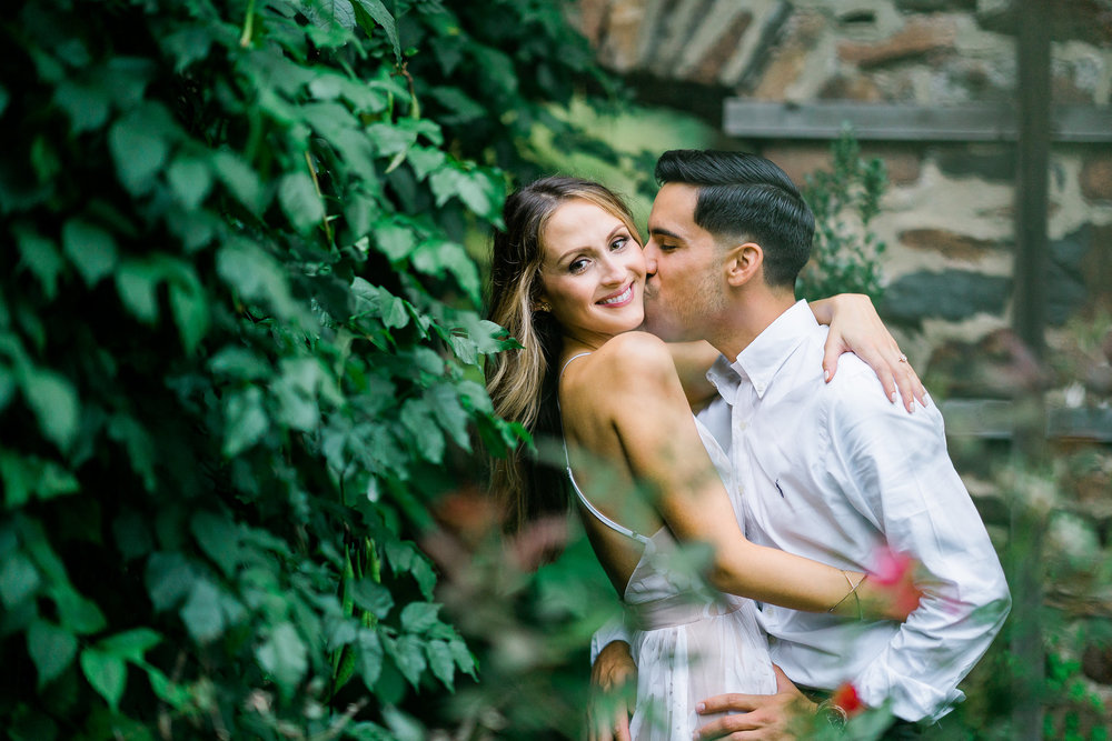 hunting hill mansion engagement photographer