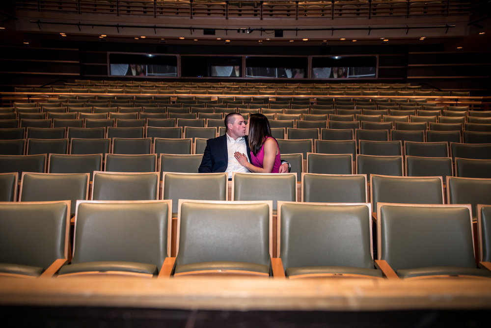kimmel center engagement shoot philly