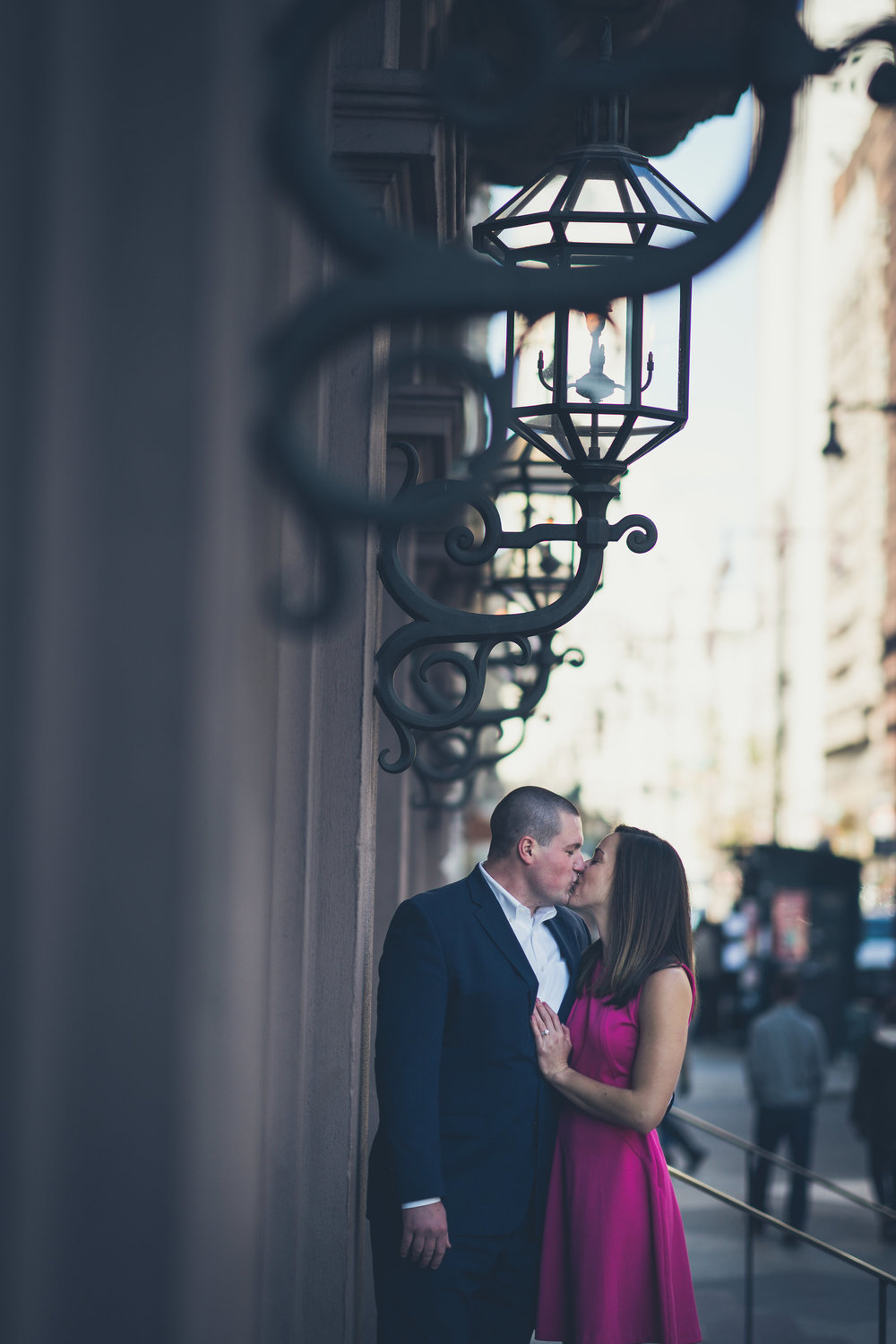 academy of music engagement photos