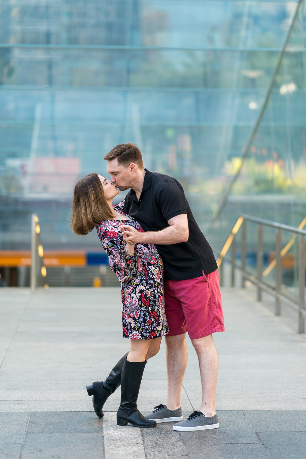 dilworth park engagement photographers