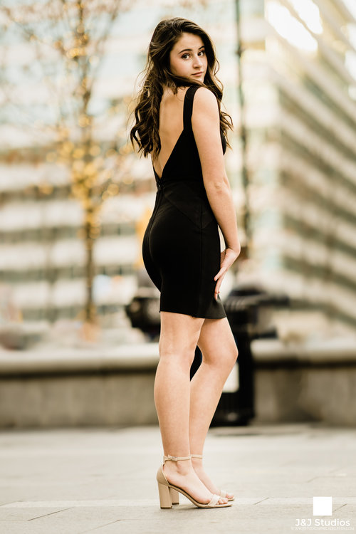 You can never go wrong with a classy little black dress