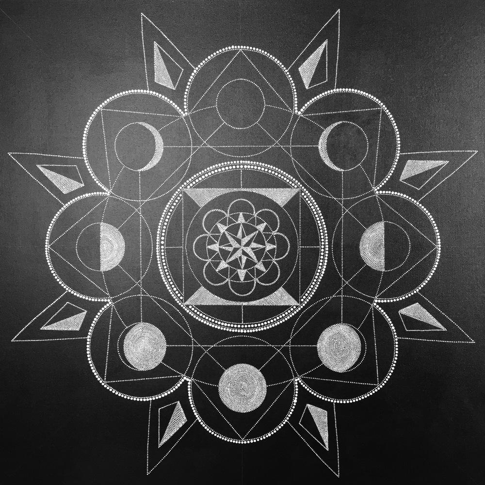 Moon Phase Mandala