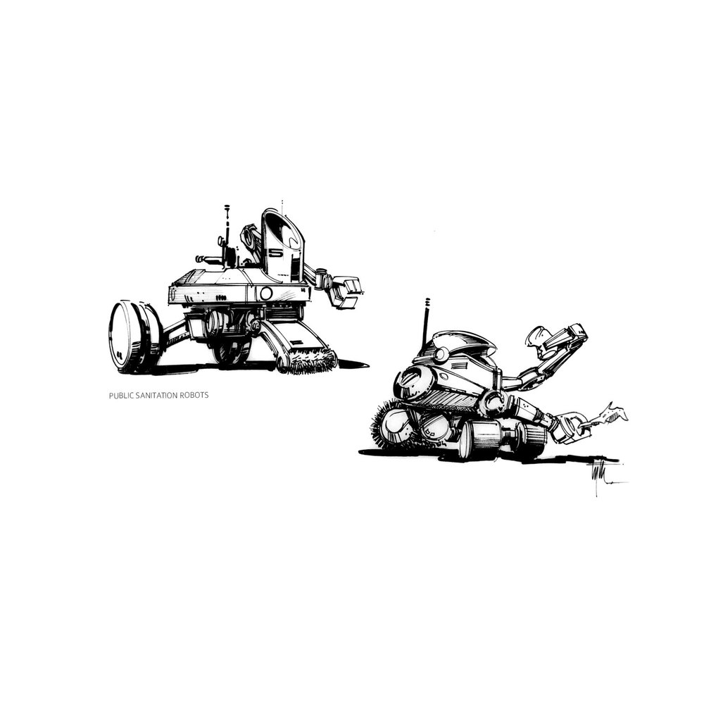 Sanitation Robots