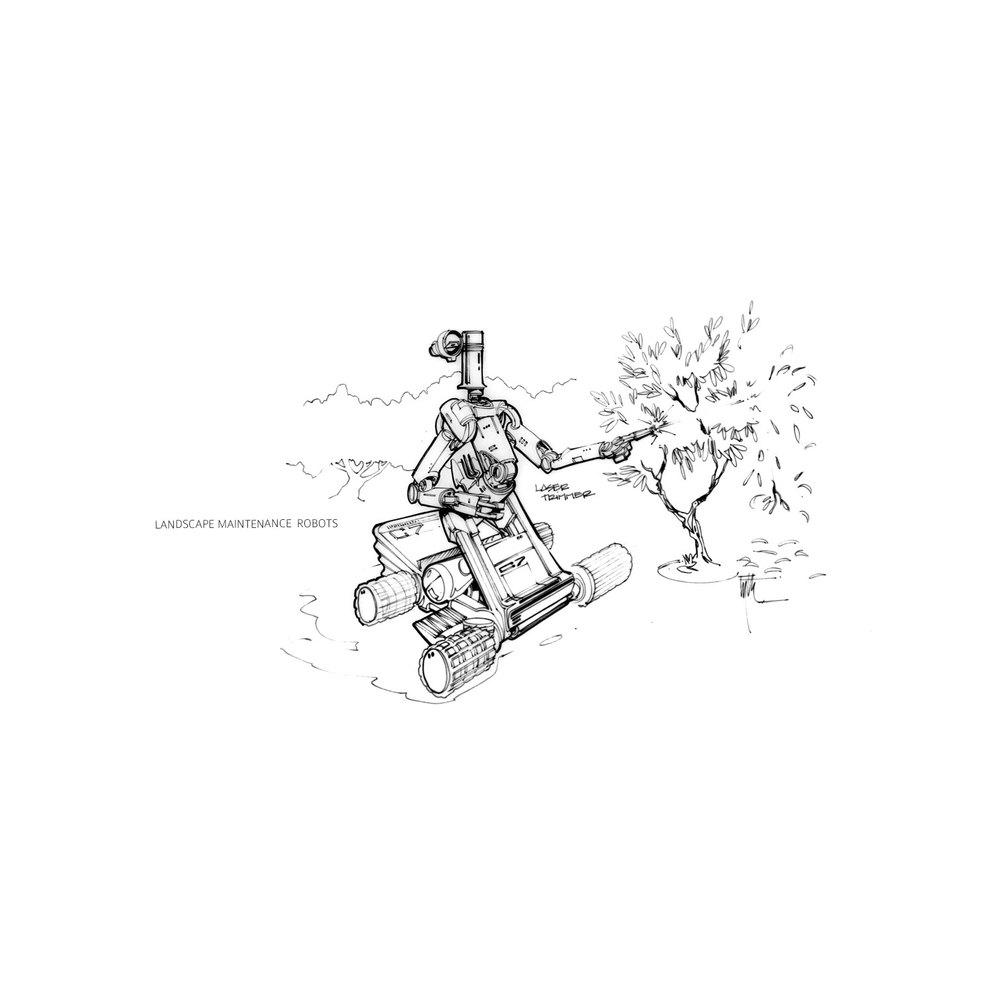 Landscape Maintenance Robot
