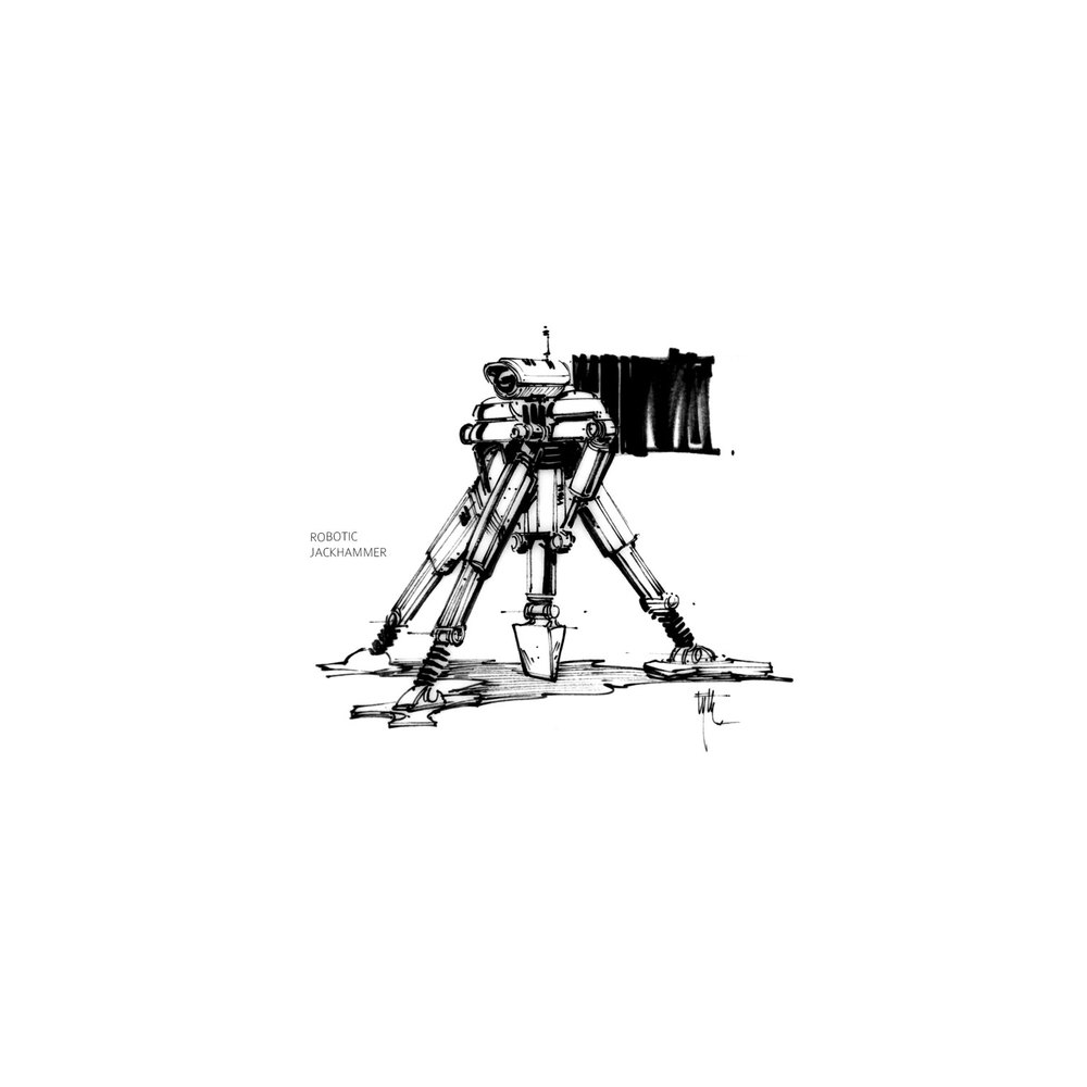 Robotic Jackhammer
