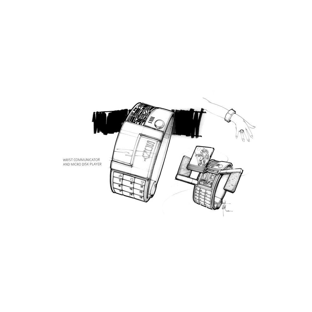 Wrist Communicator