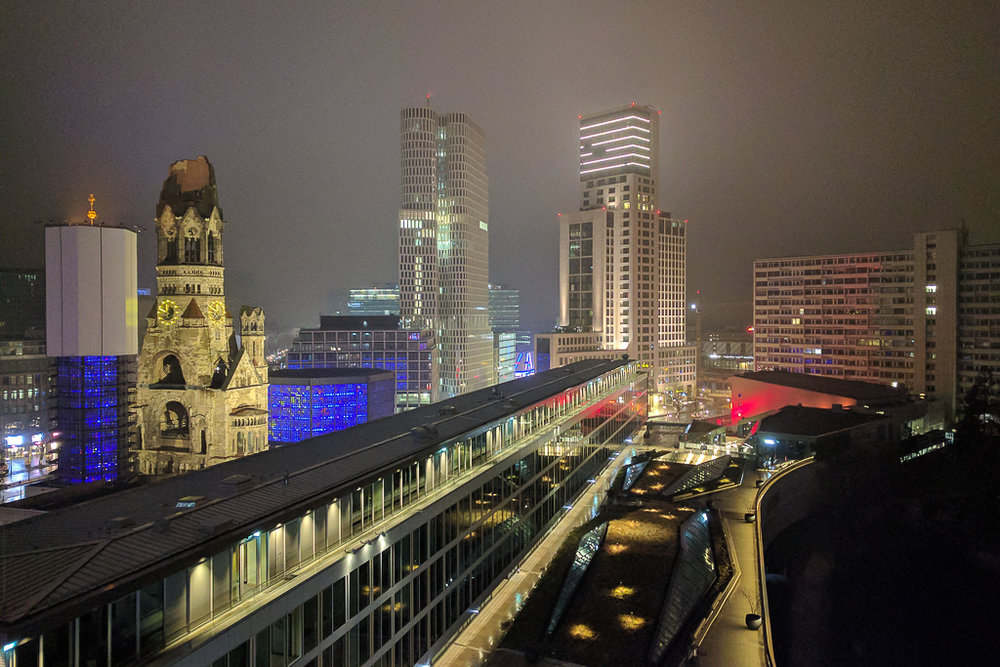 A couple of snapshot from a recent trip to Berlin. Cityscape from the Monkey bar at Hotel Bikini