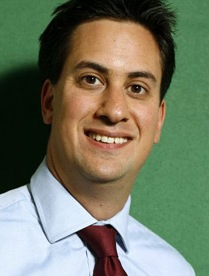 Ed Miliband, Minister for the Department of Energy and Climate Change. Photograph: David Levene/Guardian.