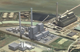 E.ON's planned Kingsnorth supercritical coal plant