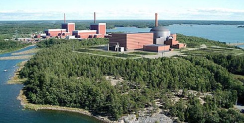 The new Finnish nuclear reactor at Olkiluoto (OLK3)