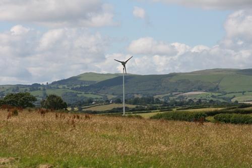 15 kW Proven Energy wind turbine. Image credit: Aeolus Power.