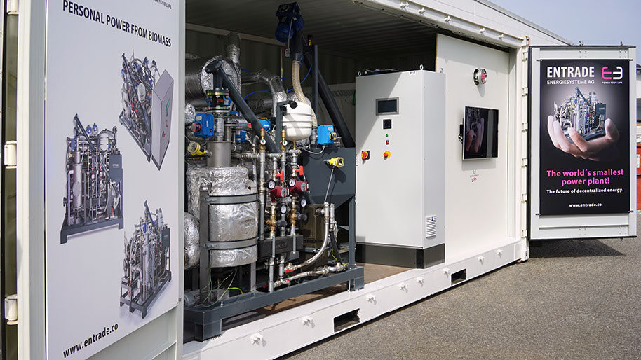 Biomass Gasification A New Contender For Decentralised
