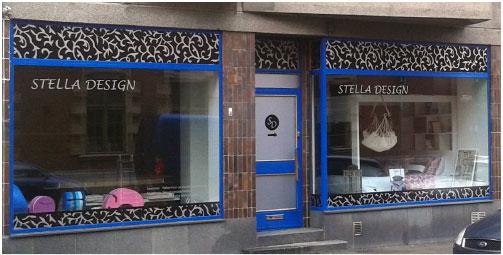Stella Design ikkunateippaus