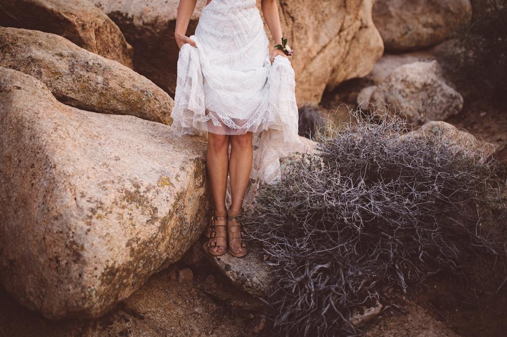 desert feet