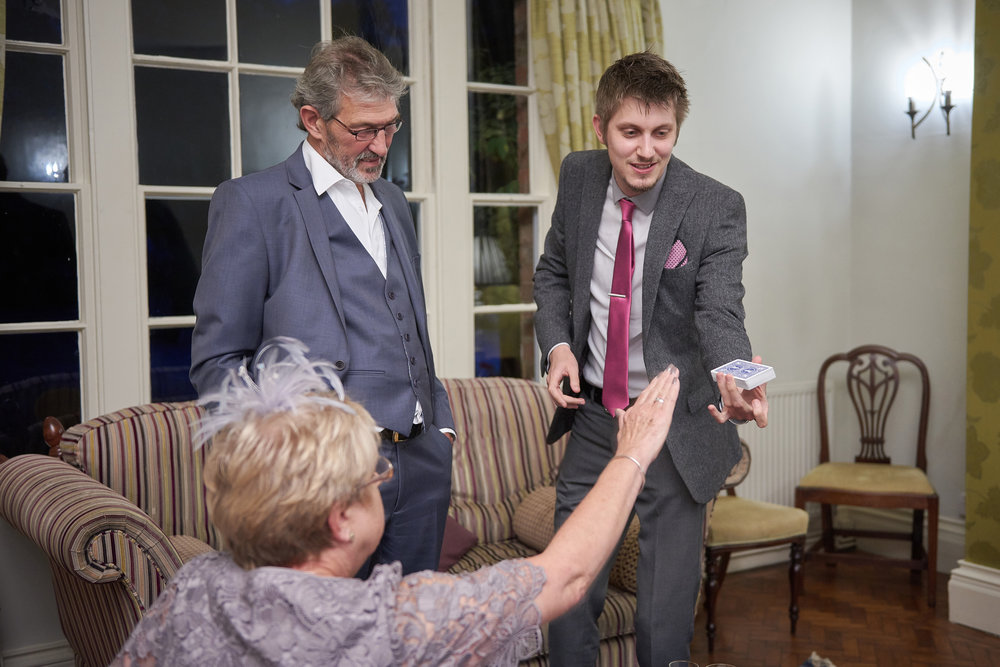 Magic at a Wedding