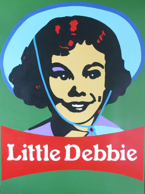 Debbie on Acrylic by  Troy Hardin
