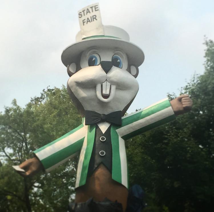 MN State Fair Mascot: Fairchild