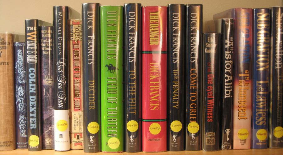 First Editions - Grafton, Francis and More