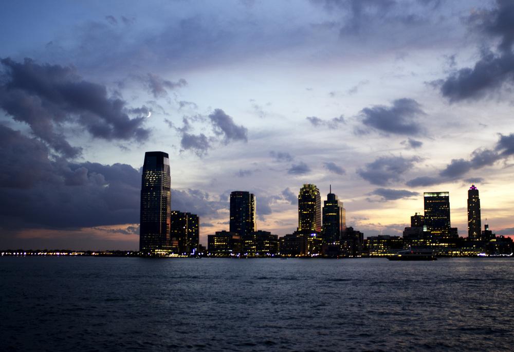 Jersey City across the Hudson