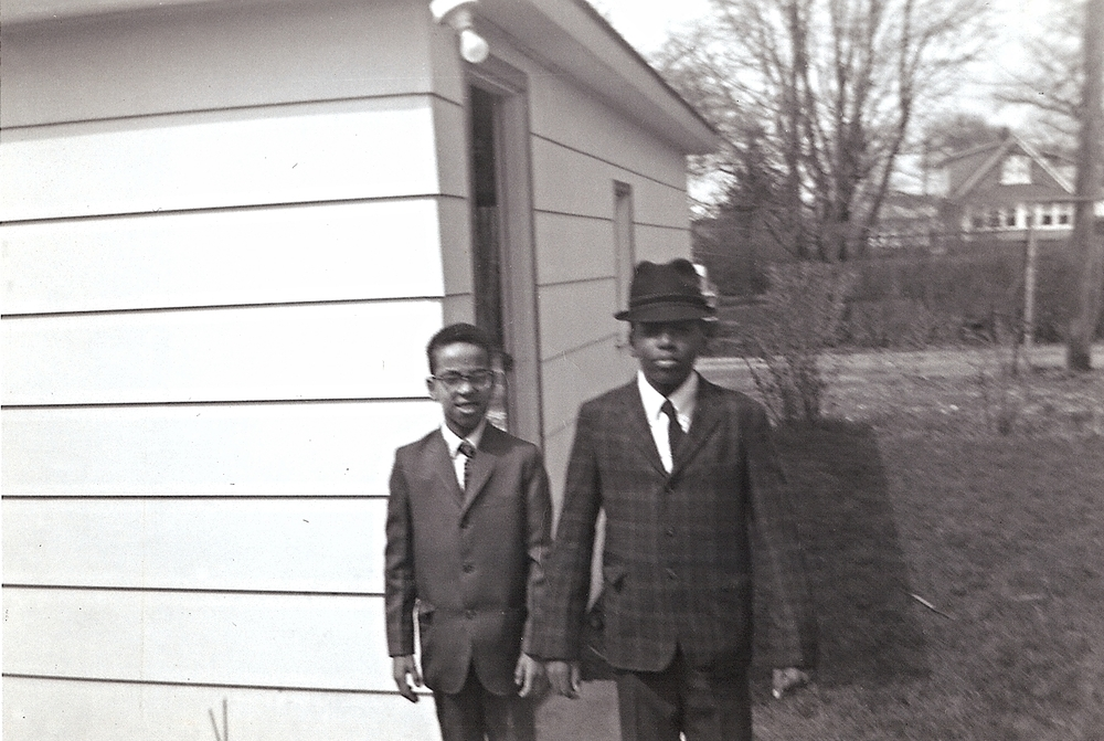 My father and a friend sometime in the early 1960s