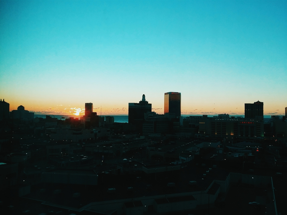 Sunrise in Atlantic City