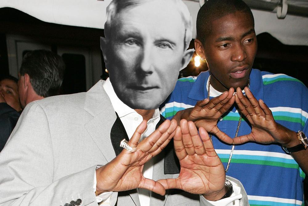 John D. Rockefeller and his good friend Jamal Crawford