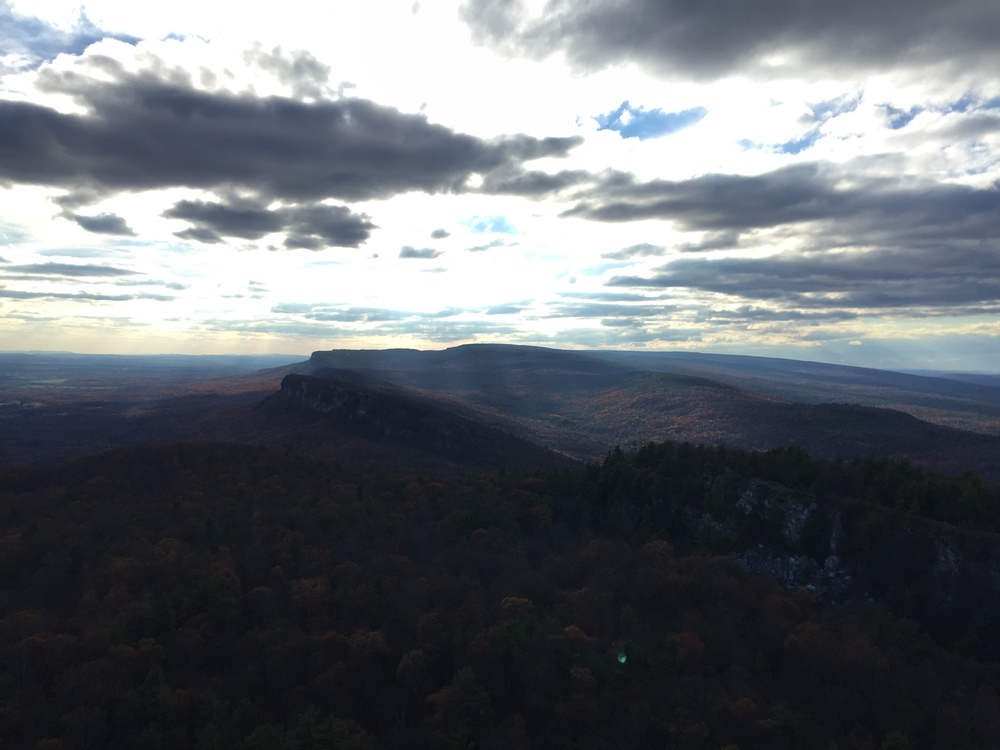 View from Mohonk Skytop Tower