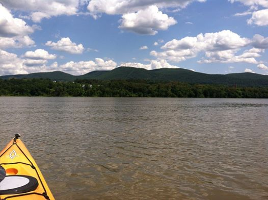 Kayaking the Hudson River