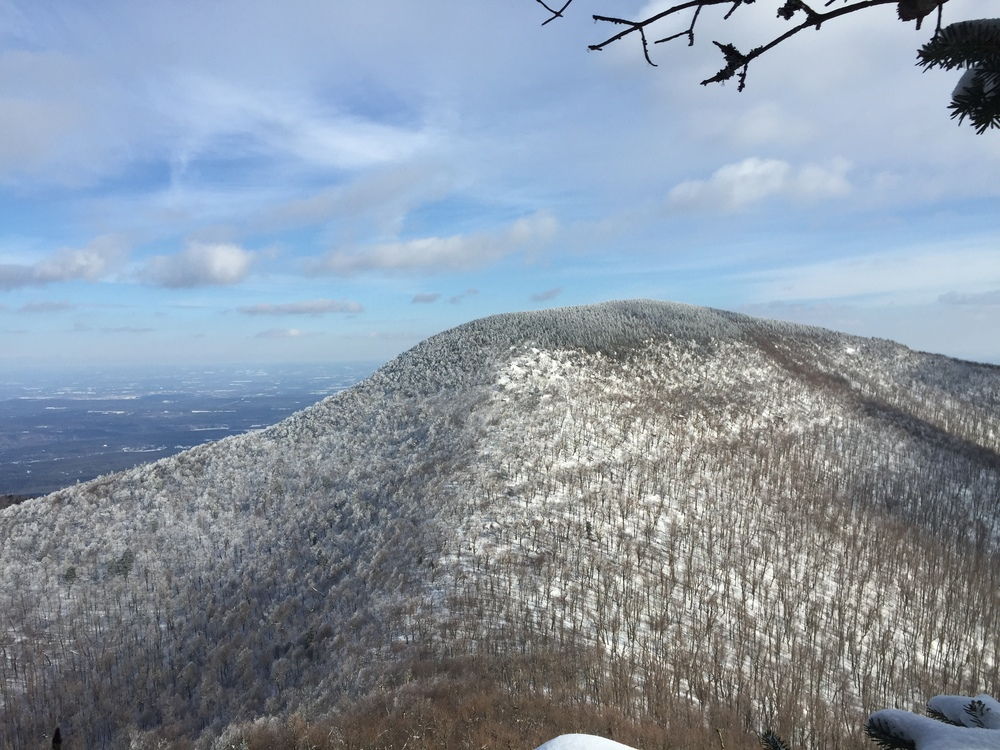 View of Blackhead Mountain