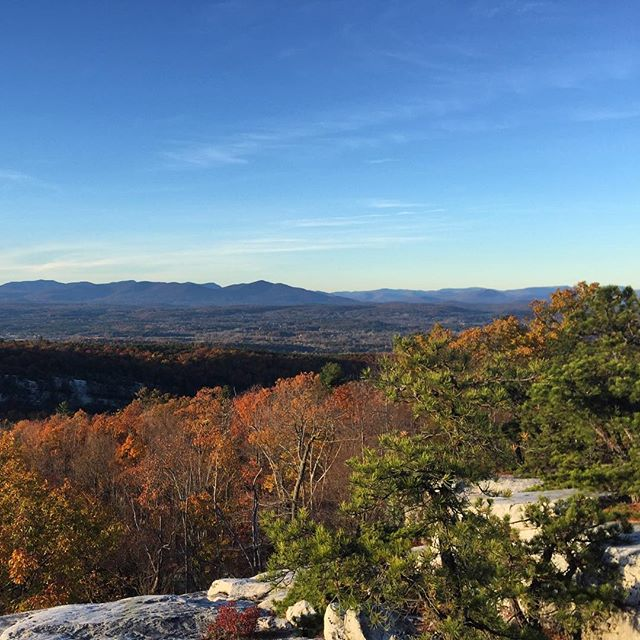 Late fall fun run.  #minnewaska #Gunks #running