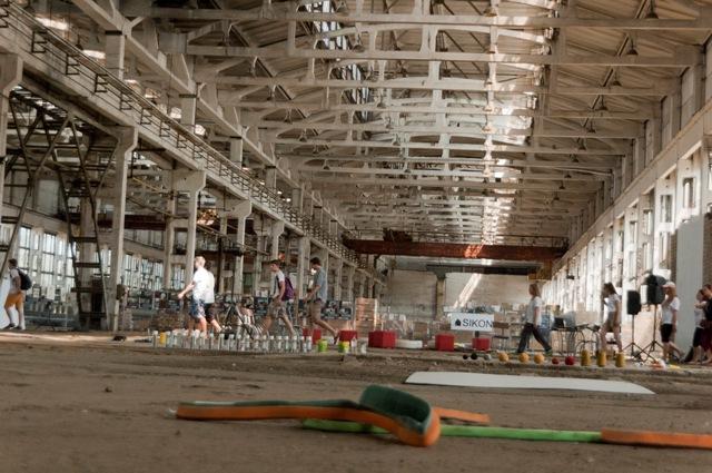 Neries gamykloje - 2012 m. vasarą vyko SIKON renginys, organizuotas architektų bendruomenės