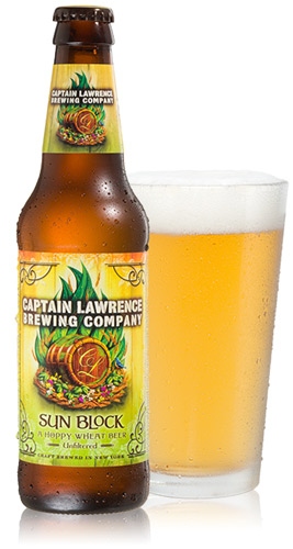 The Tap House Seasonal Beer - Captain Lawrence Sun Block