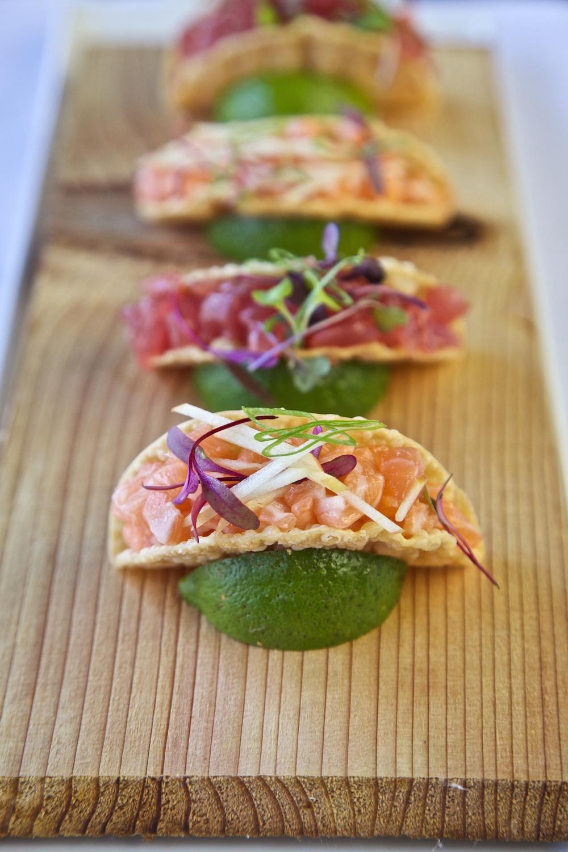 Tap House Tuckahoe Spicy Tuna Tacos