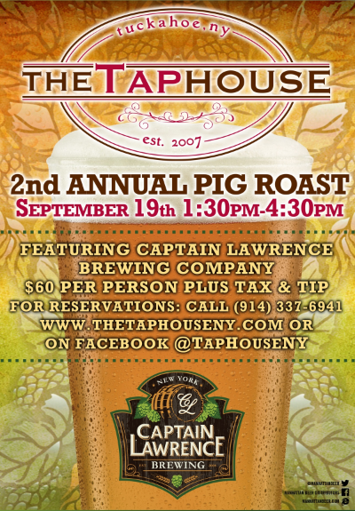 The Tap House Tuckahoe Pig Roast