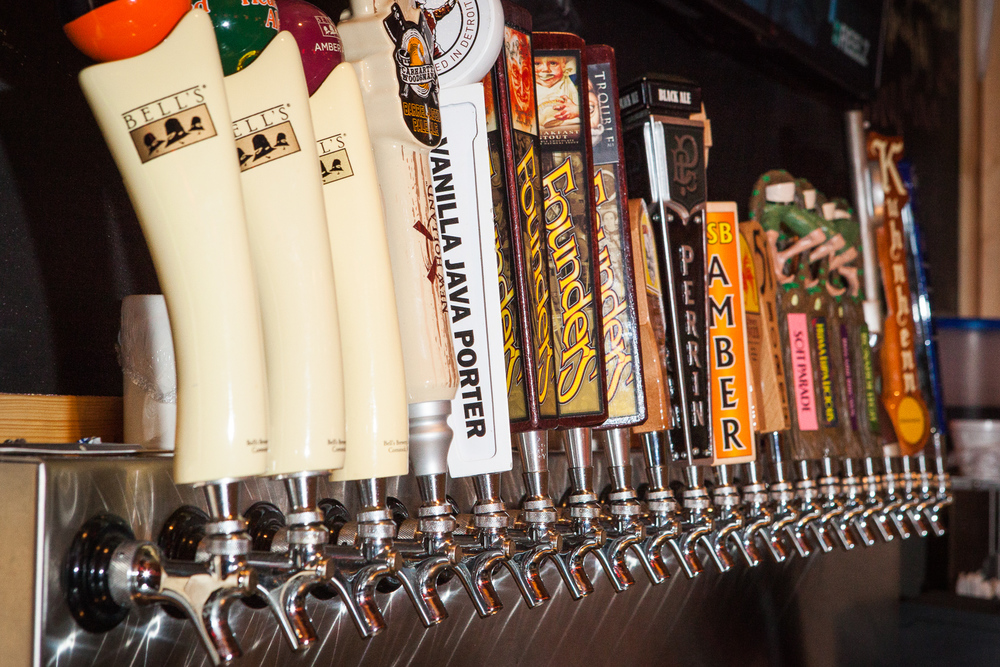 21 Beers on Tap