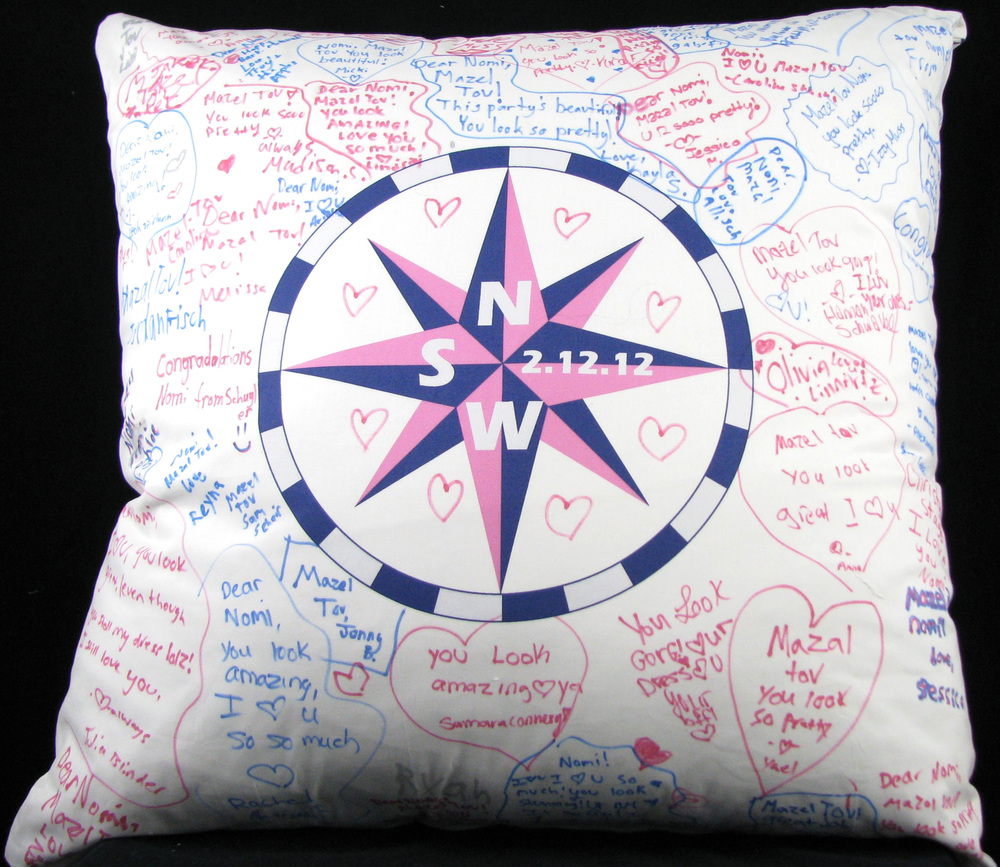 "NOMI'S COMPASS (27"") PILLOW"