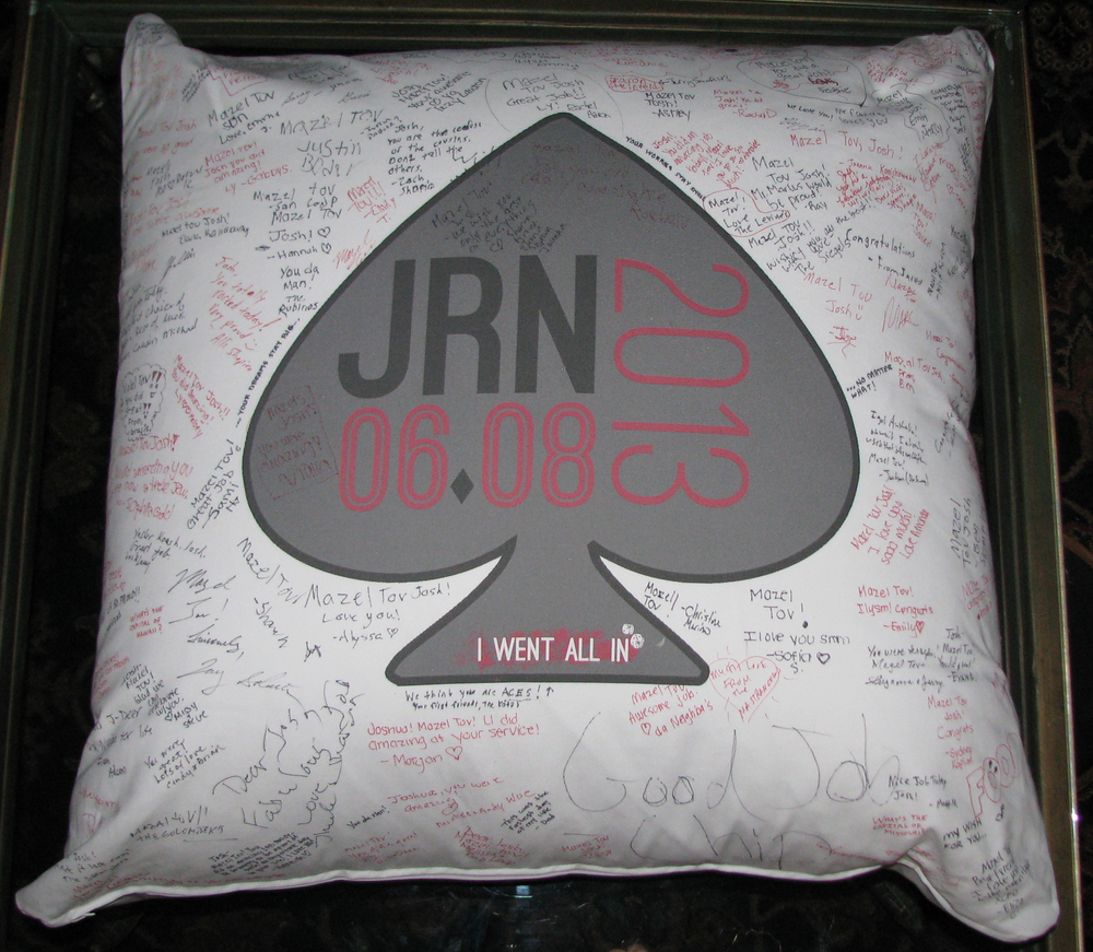 "JOSH'S ACE (27"") FLOOR PILLOW"