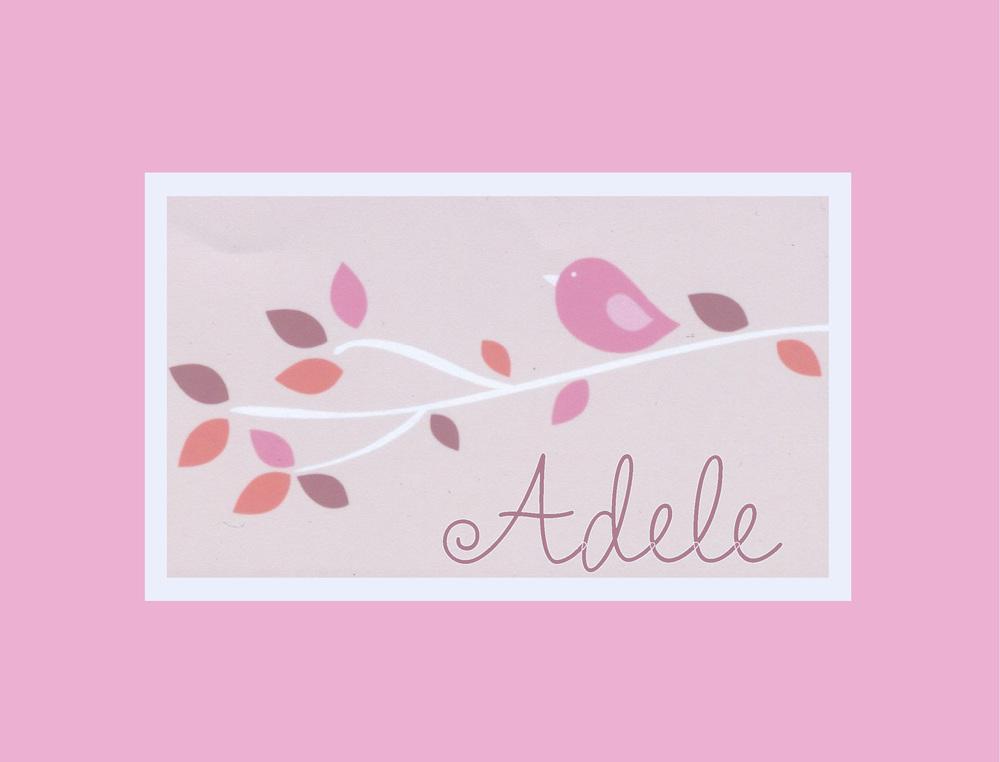 ADELE'S LITTLE BIRDIE PILLOW