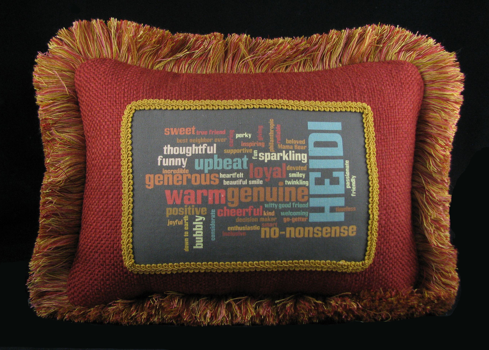 50th Birthday Pillow