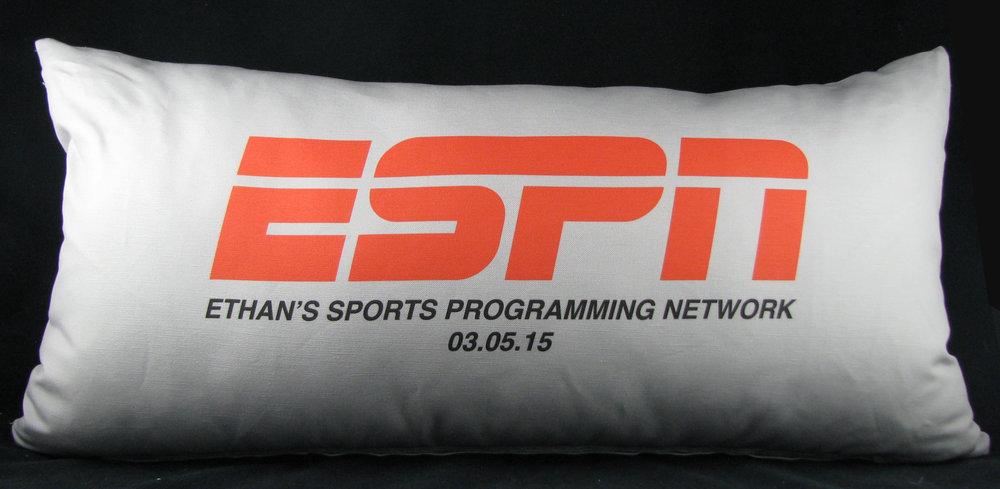 ETHAN'S ESPN PILLOW