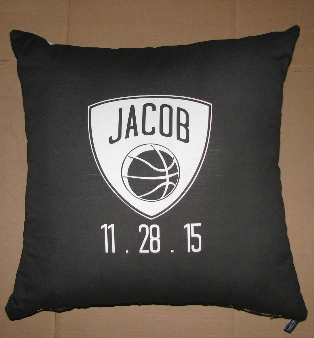 JACOB'S BROOKLYN NETS PILLOW