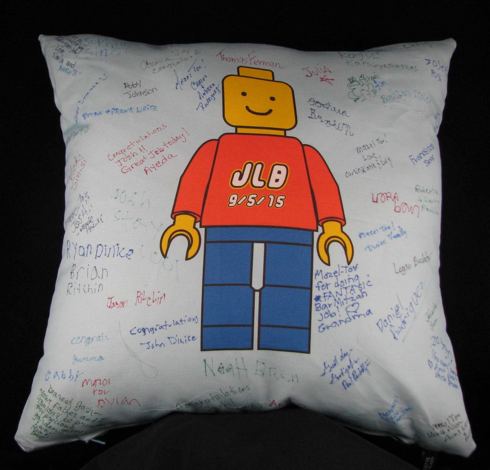 JLB'S LEGOMAN PILLOW