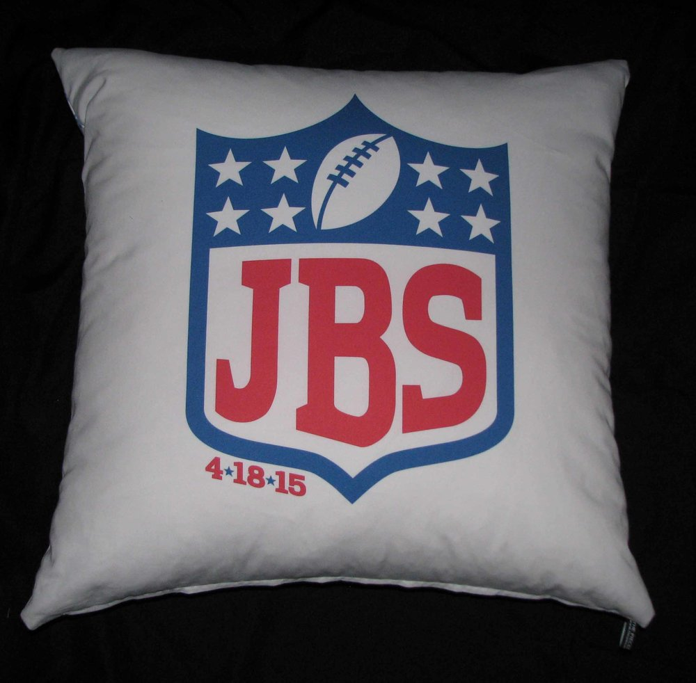 JAKE'S NFL PILLOW