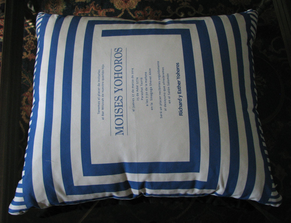 MOISES ESPANOL FLOOR PILLOW