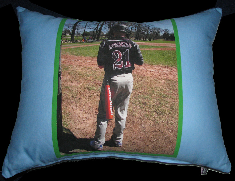 OSCARS BASEBALL PHOTO PILLOW