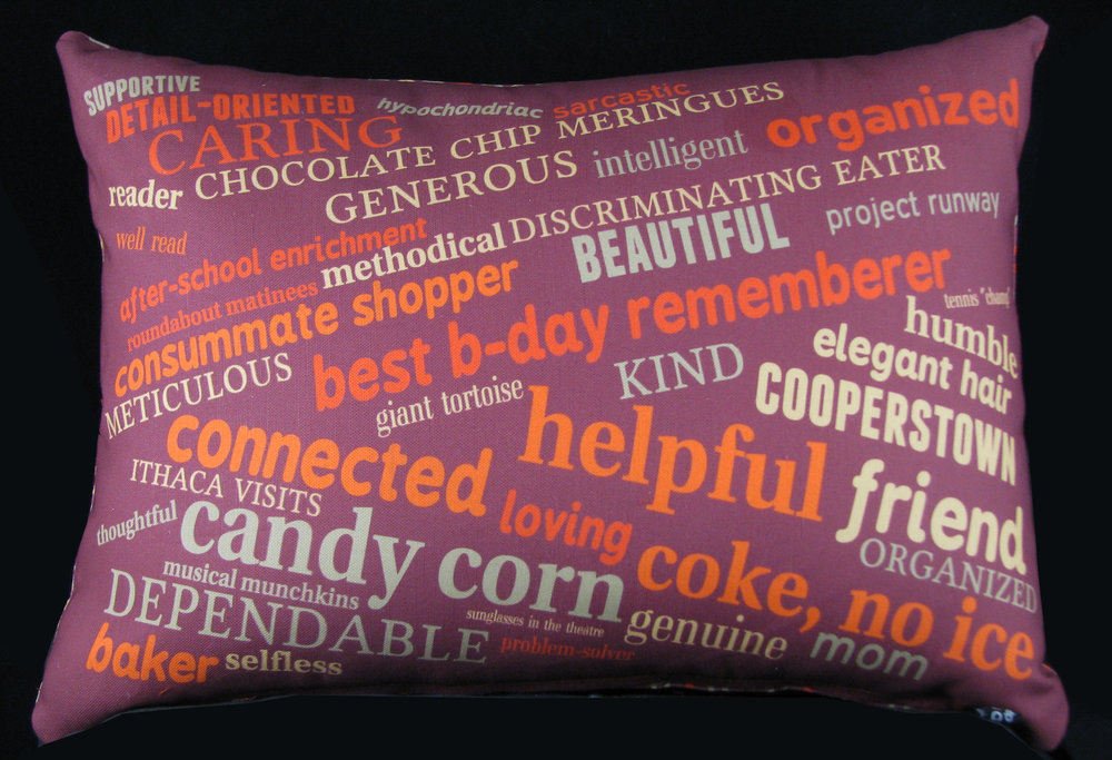 60th Birthday Pillow