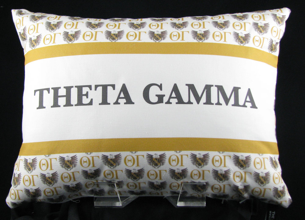 FRATERNITY/SORORITY/ACTIVITY PILLOWS