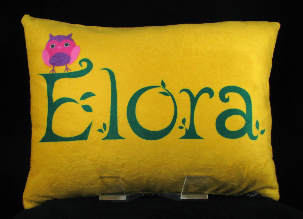Owl Personalized Pillow