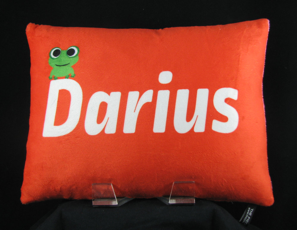 Froggy Personalized Pillow